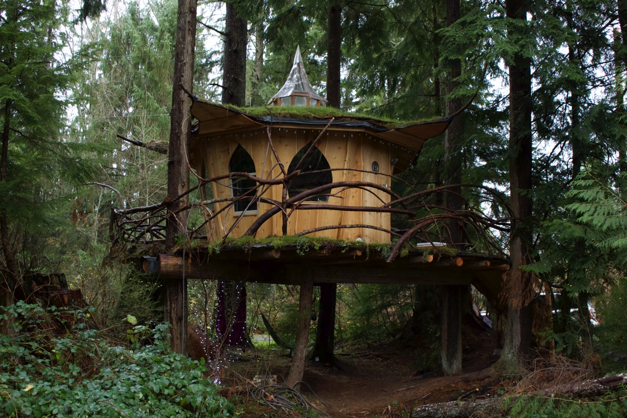 Pot Leaf Treehouse In Monroe Wa The Evergreen Market Blog